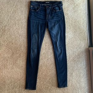 Express Mid Rise Stretch Jegging - 8L